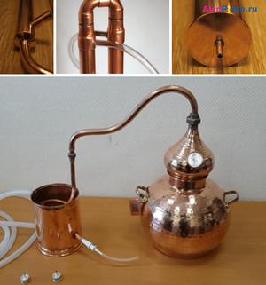 Чем хорош медный самогонный аппарат мини пивоварни в ростове на дону