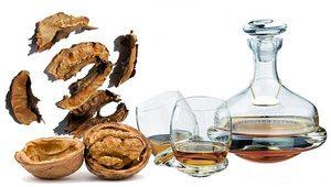 Перегородки грецкого ореха для настойки