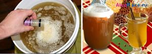 рецепты питьевой браги хлебной