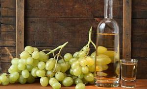 Виноградная настойка на спирту или водке
