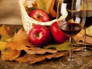 Десертное вино из яблок