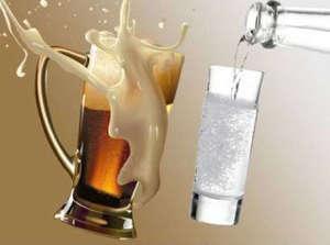 Что лучше пить водку или пиво